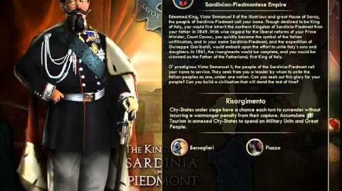 Kingdom of Sardinia-Piedmont - Victor Emmanuel II War