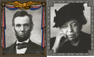 Abraham Lincoln and Eleanor Roosevelt (Civ2)