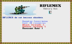 Civilopedia - Riflemen 2 (Civ1)