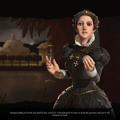 Catherine declaring war
