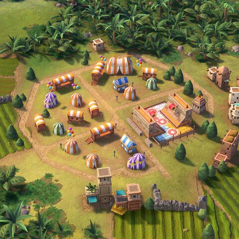 Tlachtli in game