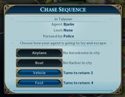 Chase sequence (Civ6)