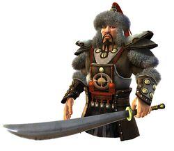 Genghis Khan (CivRev)