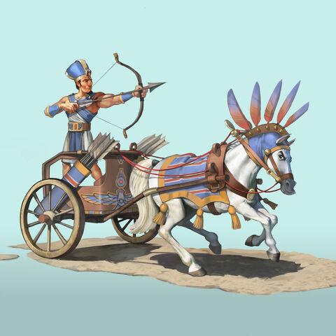Maryannu Chariot Archer concept art