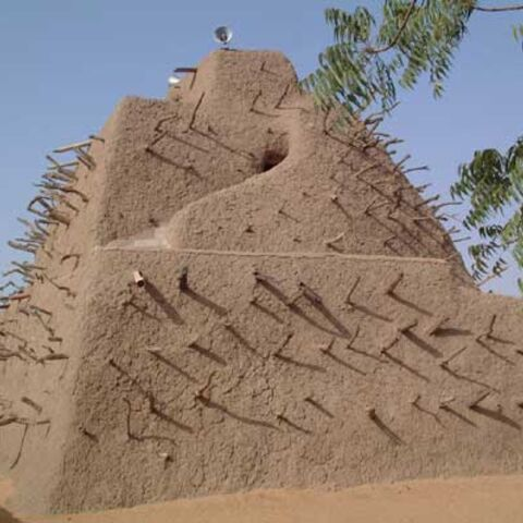 Askia's tomb in Gao