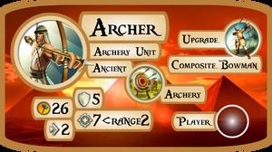 Archer Info Card