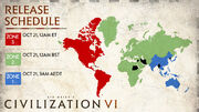 Civilization 6 release schedule