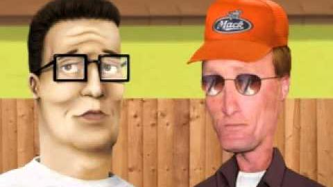 CREEPYPASTA King of the Hill Lost Episode