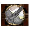 Item ankylosaur tailbone