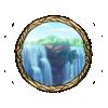 Item dual waterfalls background