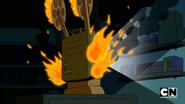 Movie on fire