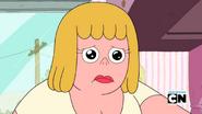 Mary's sad look