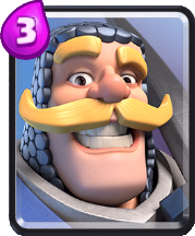 Carta Caballero Clash Royale