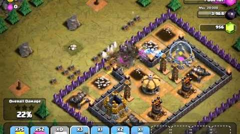 Clash of Clans, level 47 Rolling Terror (NEW!)