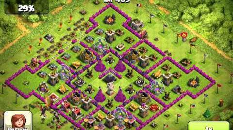 Clash of clans 2 Mill raid-1