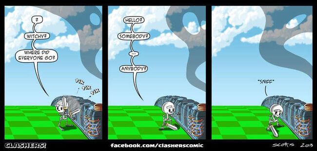 Clashers Comic 13