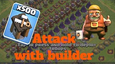 Video attack with builders unlimited troops coc best for Builders unlimited