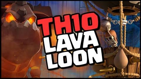 TH10 LAVALOON Attack Strategy - Strong 3 Star CoC War Raids Clash of Clans