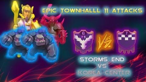 EPIC TOWNHALL 11 ATTACKS storm end vs koreacentres