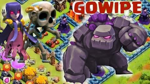 Clash of Clans Attacks - Galadon's GOWIPE Guide - Chapter 4 - The Clan Castle!