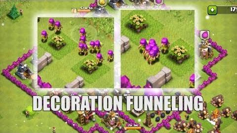 Clash of Clans - Part 27 - Decoration Funnelling
