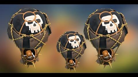 Clash of Clans Tips - Full 50 balloon attack full HD Movie
