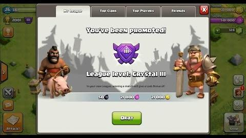 Clash of Clans Town Hall 4 (TH4) Crystal League III-0