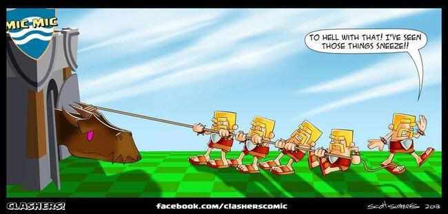 Clashers Comic 34