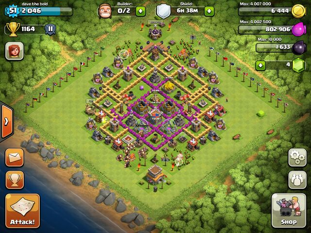 File:Town hall level 8 base from Dave the bold.jpg