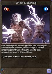 240 Chain Lightning
