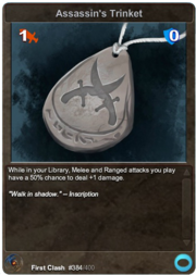 384 Assassin's Trinket