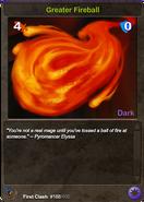 168 Greater Fireball