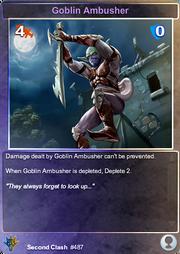 487 Goblin Ambusher (F)