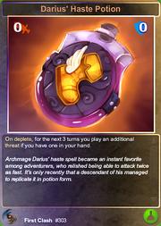 303 Darius' Haste Potion (F)