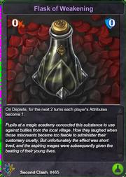 465 Flask of Weakening