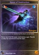 89 Spear of Destruction (F)
