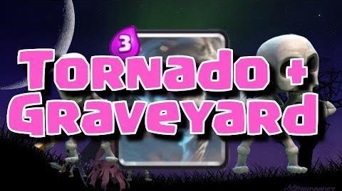 Graveyard + Tornado Deck for Arena 8, 9, 10, 11 Clash Royale