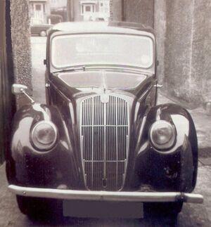 1938 Morris E type in Edmonton, London