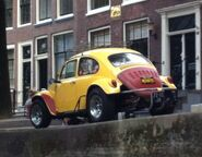 VW Beetle at Amsterdam