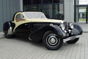 Bugatti Type 57 Atalante Chassis 57432 Roll Back Coupe