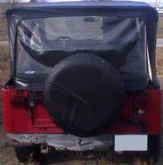 1973 CJ-5 rear 28-10-2012