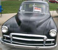 Black Chevrolet Deluxe