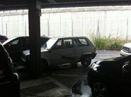 Fiat Panda at Malpensa