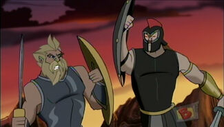 Zeus and titans