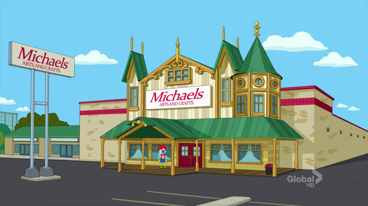 Michaels the cleveland show wiki fandom powered by wikia for Art and crafts store