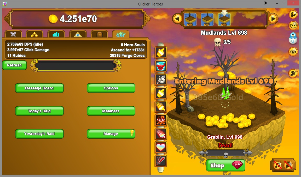 Recruitment Page | ClickerHeroes Wiki | FANDOM powered by ...