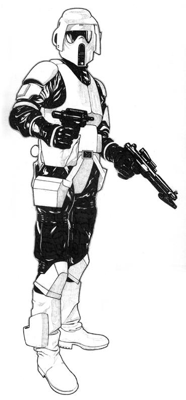 Clone Scout Trooper Clone Trooper