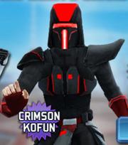 Crimson kofun