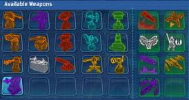 Complete DefenderWeapons