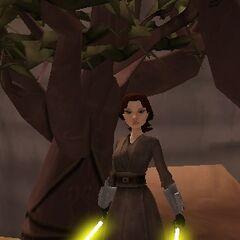 Jedi Knight Jessanna Stansu, age 20 (22BBY)